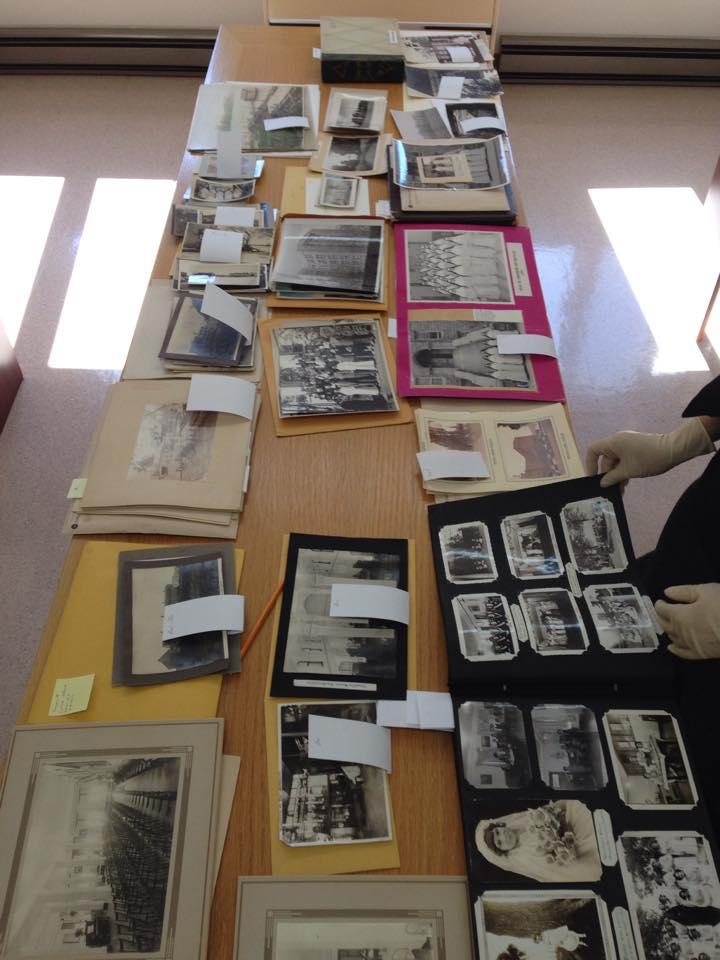 Recherche aux archives des Soeurs du Bon Pasteur.